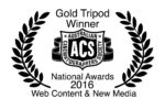 EmmaPaine Gold Tripod